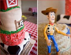 REAL PARTIES: My Little Buckaroo Is Two {Part 2 – Cake & Treat Buffet}