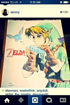 LINK! The Creator, Link, Artist, Fictional Characters, Artists