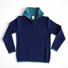 Boy's Sweater: Handsome and warm #Heloise heloisechildrensboutique.com