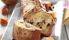 Κέικ κολοκύθας με «σταγόνες» σοκολάτας