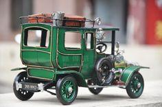 1907年劳斯莱斯银灵 手工汽车模型 复古铁皮老爷车模型 家居摆设-淘宝网