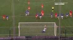 La Samp e Mazzoleni frenano la Roma. Un goal su punizione inesistente e un rigore non dato su Dzeko, spediscono i giallorossi a - 4 dalla vetta.