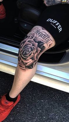 2020 Exclusive Tattoos to Rock Tattoos Bein, Dope Tattoos, Skull Tattoos, Body Art Tattoos, Hand Tattoos, Tattoos For Guys, Leg Sleeve Tattoo, Leg Tattoo Men, Best Sleeve Tattoos