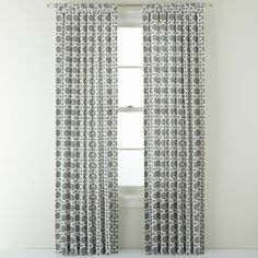 jcpenney - Happy Chic by Jonathan Adler Chloe Tab-Top Linen-Blend Curtain Panel - jcpenney