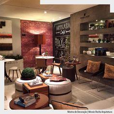 O espaço café projetado pelo escritório @moraisrocha para a Mostra da Artkasa. Elementos marcantes como tecnocimento e textura de tijolinho fazem uma composição perfeita deixando o ambiente super acolhedor.  Arquiteturade #arquiteturadecoracao #admostra #adcomercial #olioliteam #oliolinatal http://ift.tt/1U7uuvq arqdecoracao arqdecoracao @arquiteturadecoracao @acstudio.arquitetura