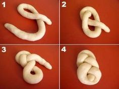 Résultat d'images pour lussekatter shapes No Carb Bread, Bread Shaping, Decoration Patisserie, Bread Art, Braided Bread, Dessert Aux Fruits, Pastry Art, Savoury Baking, Bread And Pastries