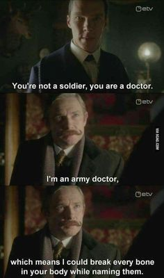 One of my favorite John lines