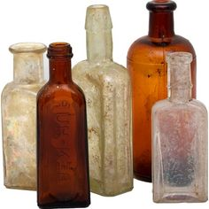 I pinned this Vintage 5 Piece Winston Apothecary Bottle Set I from the Pip & Estella event at Joss and Main!