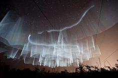 White Northern Lights in Finland - Imgur