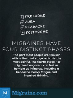 (http://migraine.com/blog/what-is-a-migraine-prodrome/) Prodrome is only one of the stages of a Migraine attack. It is the first part of an attack when the 'normal' equilibrium of the central nervous system has been disrupted.  Some symptoms of prodrome may include: Appetite changes Cognition and concentration difficulties Cold extremities Diarrhea or other bowel changes Excitement or irritability Fatigue Frequent urination Memory changes Weakness Yawning, stretching