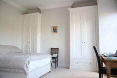 Luxury fitted built in wardrobe in traditional style
