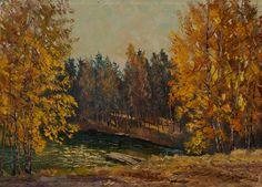 Сочные осенние пейзажи Анатолия Данилова