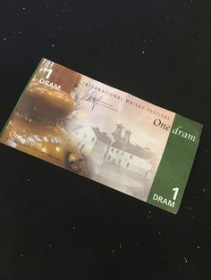 Whisky Festival, Event Ticket