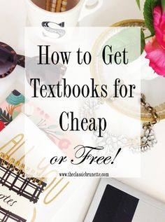 Want to know how to get college textbooks for free? Check out these amazing tips that are guaranteed to save you hundreds of dollars when buying books for school!