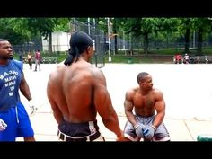 Street training (JUICE) - I love push-ups - YouTube