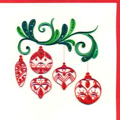 quilling idea for christmas