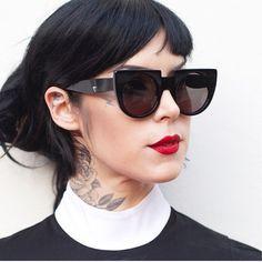 ||| VAŁŁEY ||| PRĮSM COŁŁECTĮON ||| featured style 'XVI' as worn by KAT VON D ||| @thekatvond ||| available now at valleyeyewear.com ||| rrp $199.99 ||| at valleyeyewear.com [November 11th, 2014]
