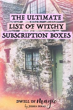 I think subscription boxes are really awesome I love that you can order a monthly box of various goodies that are geared to your interests In my case that would definitel. Which Witch, Hedge Witch, Baby Witch, Wicca Witchcraft, Practical Magic, Kitchen Witch, Blessed, Book Of Shadows, Herbalism