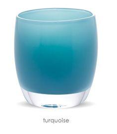 turquoise | glassybaby