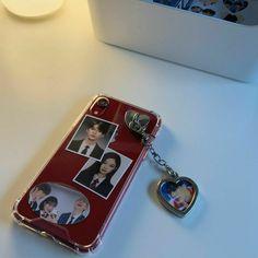 Kpop Phone Cases, Kawaii Phone Case, Diy Phone Case, Iphone Phone Cases, Phone Covers, Cute Cases, Cute Phone Cases, Homemade Phone Cases, Aesthetic Phone Case