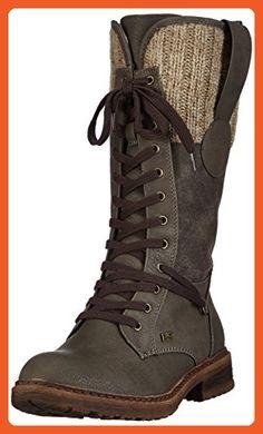 0ac87ca88 Rieker womens long boot graphit brown grey size 37.0 EU - Boots for women  ( Amazon Partner-Link)