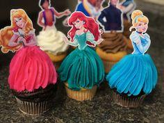 Princess Cupcakes, Custom Cupcakes, Cupcake Toppers, Passion, Personalised Cupcakes, Princess Cupcake Cakes