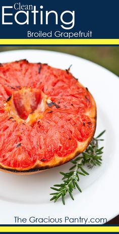 Clean Eating Broiled Honey Grapefruit - I've made this several times.. So good.