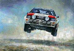 Audi Quattro par Yuriy Shevchuk | Article original : http://newsdanciennes.com/2015/07/25/morceaux-darts-du-samedi-yuriy-shevchuk/