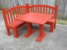 Turn a crib into a playroom kid table!