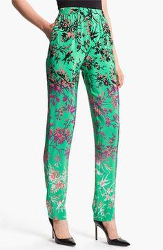 Nanette Lepore 'Ladi Dadi' Silk Pants available at Nordstrom