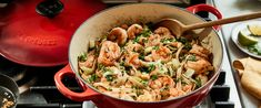 Pan-Fried Noodles and Shrimp