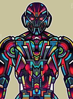 Ultron by Van Orton Design