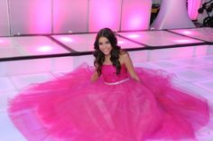 Pretty pink Bat Mitzvah dress from Designing Dreams. Pink is a dream. come true Pretty Pink Princess, Pretty In Pink, Pretty Quinceanera Dresses, Prom Dresses, Bat Mitzvah Dresses, Bat Mitzvah Party, Everything Pink, Rich Girl, Pink Outfits