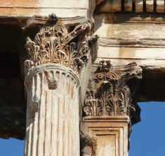 LAS PARIDAS DE MARCELO DEL CAMPO: Una de romanos: capiteles atenienses de la época de Adriano