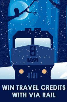 Win Travel Credits with VIA Rail