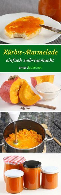 Kürbis muss nicht immer herzhaft sein. Probiere doch mal dieses einfache und köstliche Rezept für Kürbis-Marmelade!