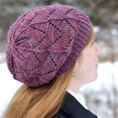 105df250f8b Frosted Primrose Hat pattern by Melissa Burke