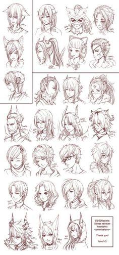 Manga Drawing Tips SRC - by =omocha-san on deviantART - Guy Drawing, Manga Drawing, Drawing Tips, Drawing Sketches, Art Drawings, Drawing Ideas, Drawing Faces, Drawing Style, Anime Hair Drawing