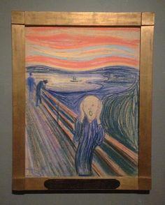 Dibujo El Grito, Munch's