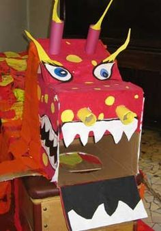 how to make a chinese dragon - Google Search