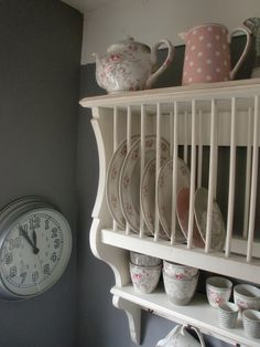 GreenGate Stoneware Sophie Vintage mixed with Naomi, Liva and Lace Warm Grey