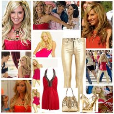 """Sharpay Evans"" by courtneybc on Polyvore"
