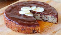 Šokolaadiglasuuriga banaanikook http://www.raudnetervis.com/  #raudnetervis