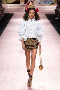ebad0a79d9ea SS19 Runway By Designer   Dolce and Gabbana Dolce Gabbana