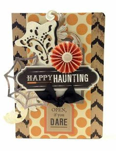 Anna Griffin-- use for layering ideas, not Halloween