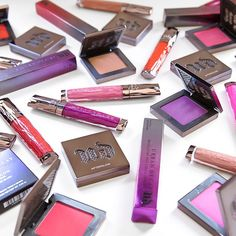 With names like Quiver, Indecent, and Scandal, Urban Decay's new High-Color Lip Gloss and Afterglow Blush shades are as edgy as they are vibrant.