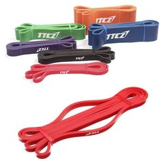 Sale 24% (6.39$) - Red Fitness Elastic Belt Resistance Bands Strength Training Exercise Pulling Strap #resistancebands