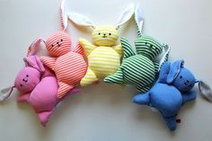 Sewing tutorial: Mooshy Belly Bunnies - easy beginner sewing project