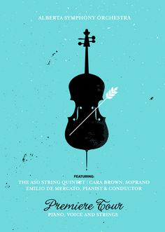 Alberta Symphony Orchestra: A classical tour for all Albertans, 3 Advertising Agency: RED, Edmonton/Vancouver, Canada Creative Director: Craig Redmond Associate Creative Director / Art Director: Nigel Hood Associate Creative Director / Copywriter: Jon Manning Illustrator: Nigel Hood Published: October 2015