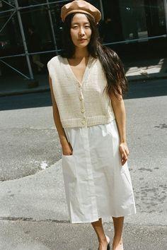 SWEATER DRESS, OFF WHITE